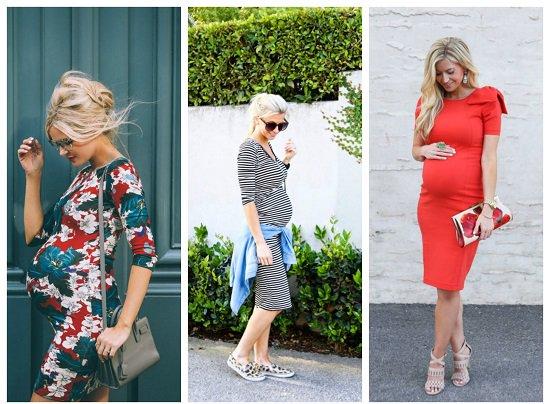 صورة ملابس حوامل , لباس المراه الحامل واشكالها