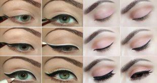 صورة مكياج عيون بالخطوات , طريقة عمل مكياج العيون بالتفصيل