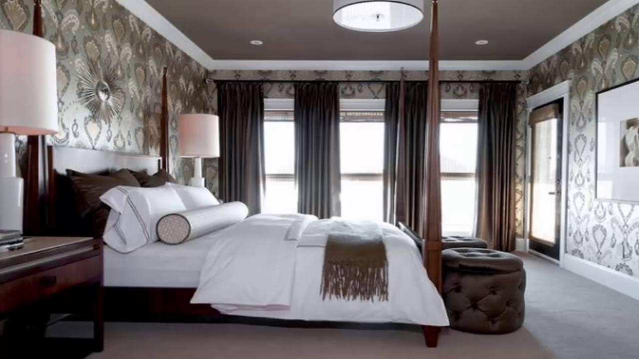صورة ورق جدران غرف نوم , اجمل اشكال ورق الحائط 3515 2