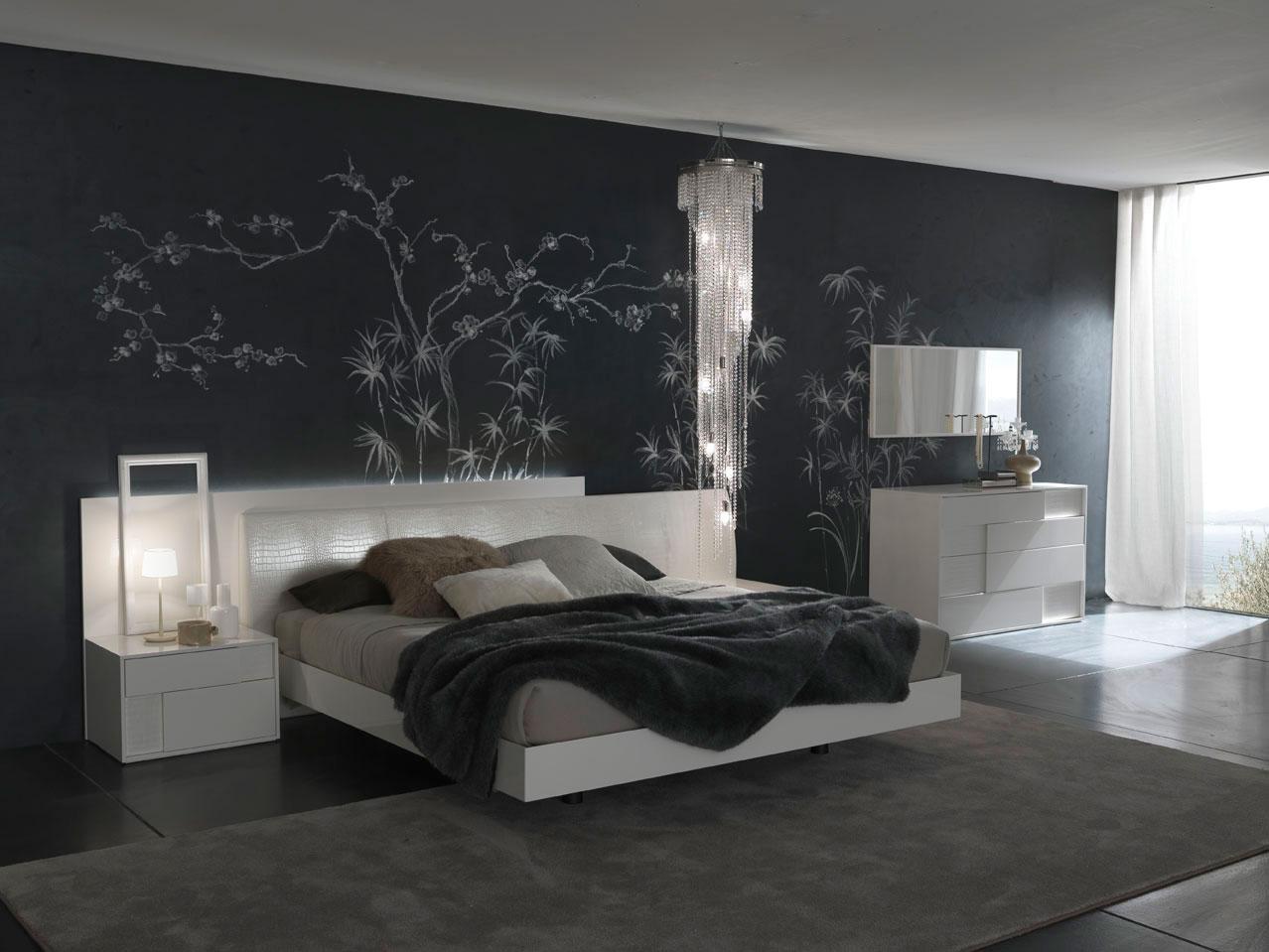 صورة ورق جدران غرف نوم , اجمل اشكال ورق الحائط 3515 3