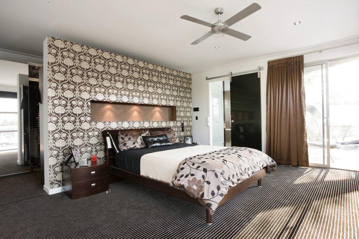 صورة ورق جدران غرف نوم , اجمل اشكال ورق الحائط 3515 4