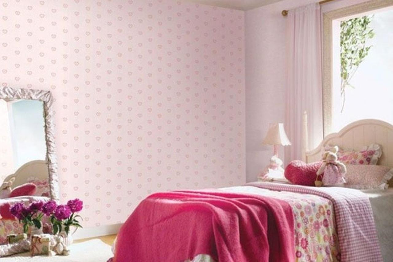 صورة ورق جدران غرف نوم , اجمل اشكال ورق الحائط 3515 9