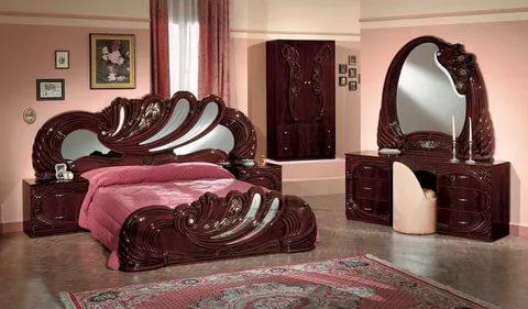 صورة غرف نوم خشب , اجمل الديكورات لغرفة نوم خشب