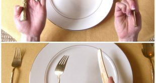 صورة اتيكيت الشوكة والسكين , فنون الاتيكيت و التعامل الصحيح مع الاكل