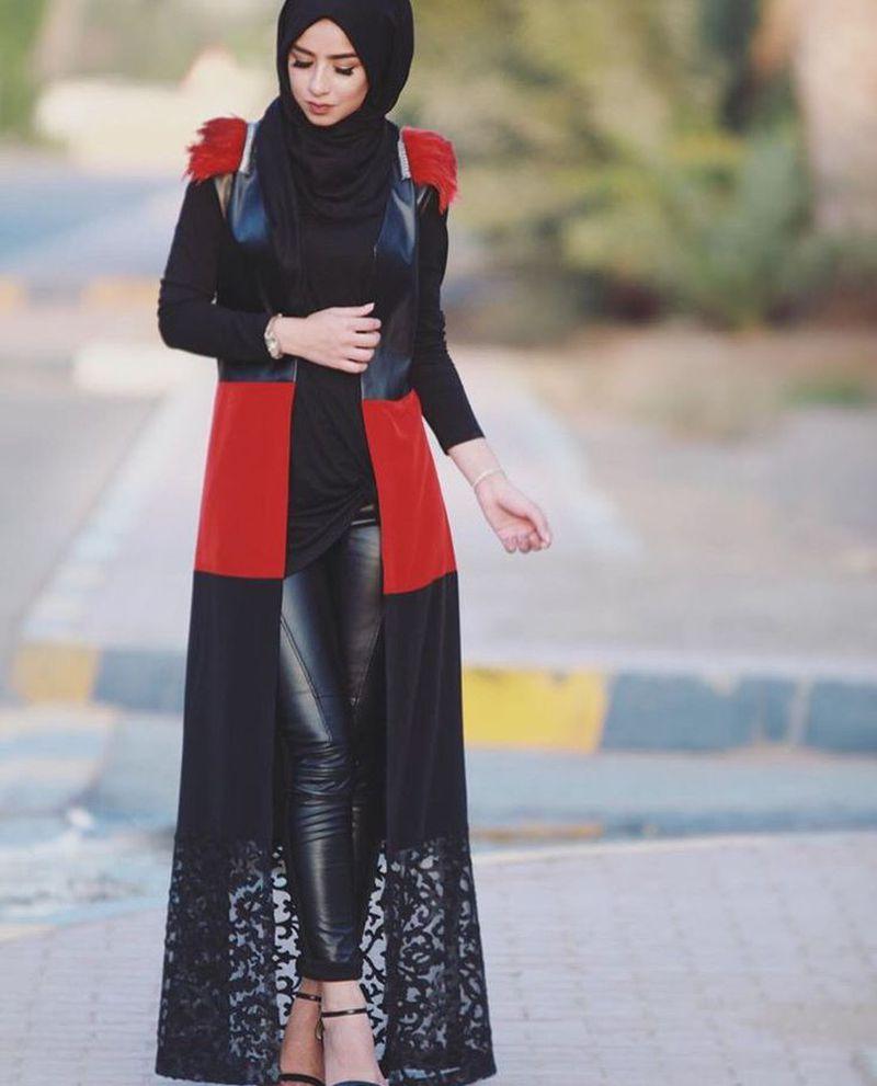 صورة ملابس للمحجبات , اروع الموديلات الجديدة للمحجبات