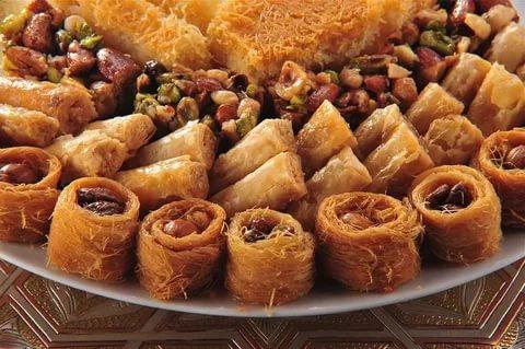 صورة حلويات عربية , اشهر الحلوى العربية باسهل طريقة
