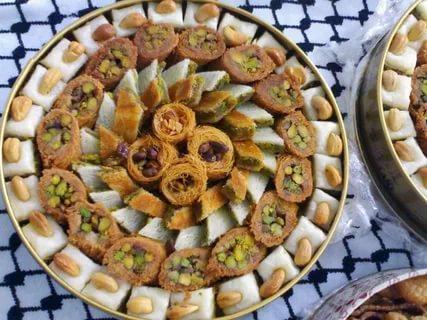 صورة حلويات عربية , اشهر الحلوى العربية باسهل طريقة 1560 3