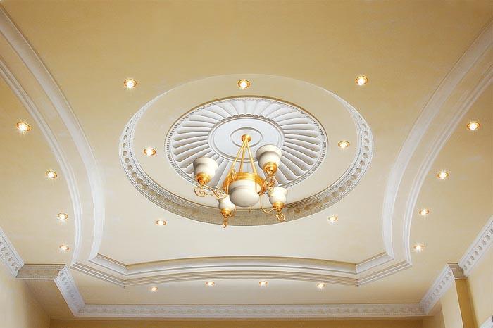 صور جبس اسقف صالات , احدث تصميمات لفن الديكور