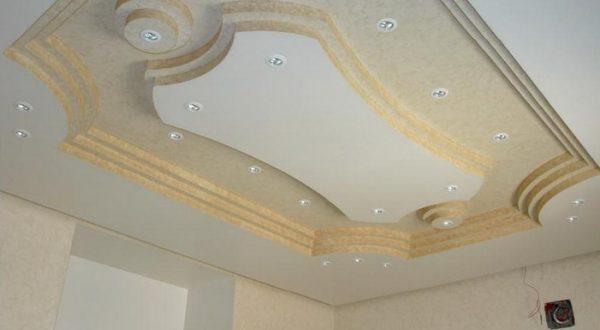 صورة جبس اسقف صالات , احدث تصميمات لفن الديكور