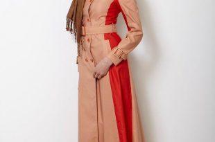 صورة موضة 2019 للمحجبات , ارق التصميمات للملابس المحجبات روعه