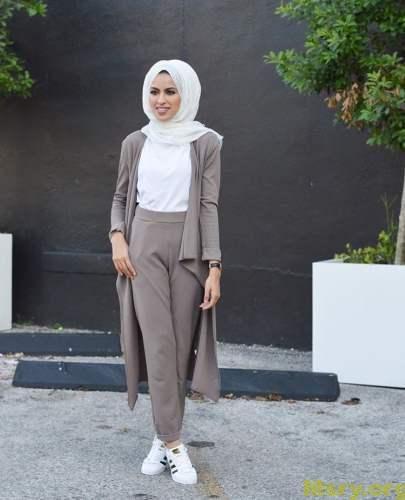 صورة لبس بنات محجبات , احدث صيحات الموضه للبس المحجبة