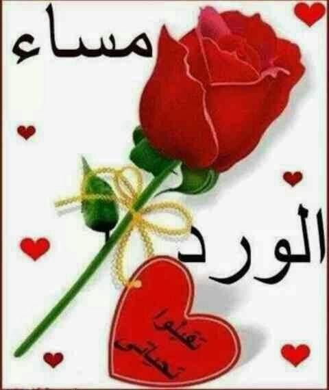رسائل مساء الخير حبيبي اجمل الصور الرومنسيه المسائيه كلام نسوان