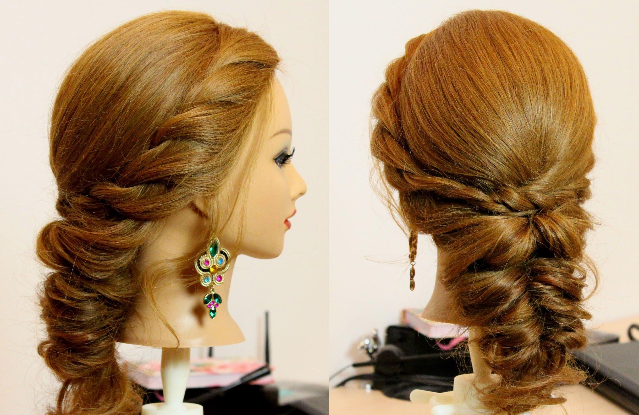 صورة تسريحات بسيطة للشعر , احدث الصيحات فى تسريحة الشعر للبنات