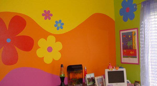 صورة دهانات غرف اطفال , ديكورات ورسومات لغرف الاطفال