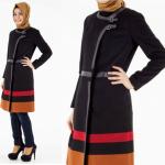ملابس شتوية للمحجبات تركية , تصاميم جديده لملابس شتويه للمحجبات