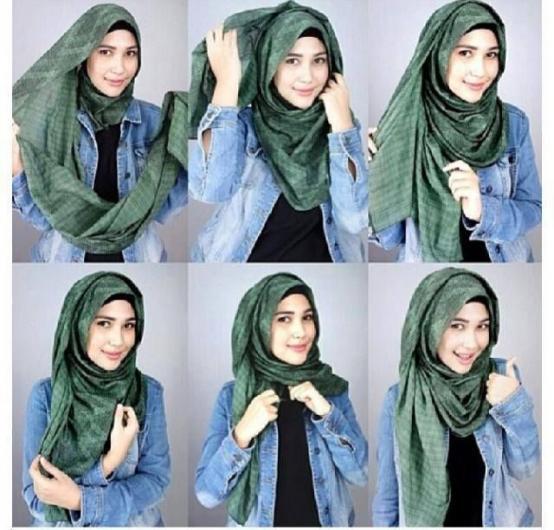 صورة طرق لف الحجاب , احدث الصور لاشكال لف الحجاب