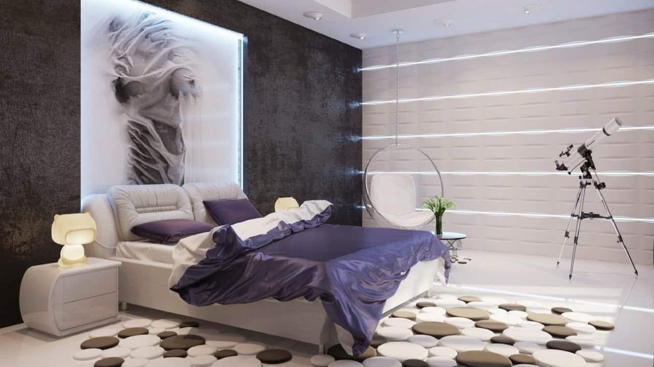 صورة اوض نوم مودرن 2019 , اجمل ديكورات غرف النوم الحديثة 3478 7
