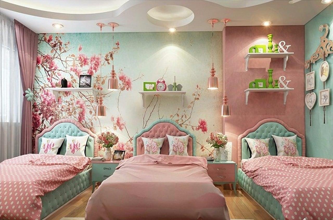 صورة الوان غرف نوم اطفال , اجمل اشكال غرف نوم الاطفال