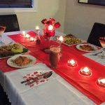 عشاء رومانسي في البيت , طريقة تحضير عشاء رومانسي في البيت