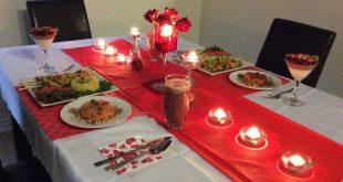 صور عشاء رومانسي في البيت , طريقة تحضير عشاء رومانسي في البيت