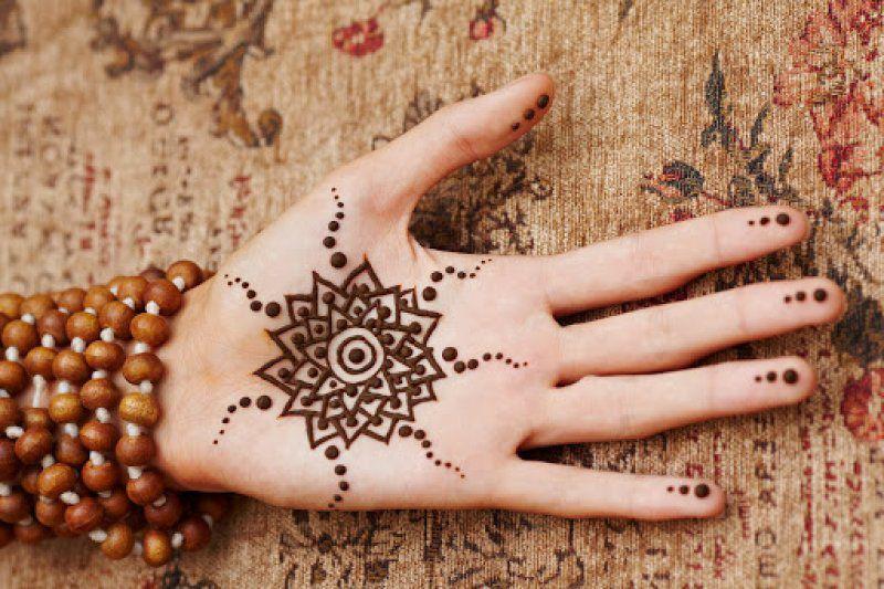 صورة نقش حناء خفيف , اروع رسومات نقش الحناء