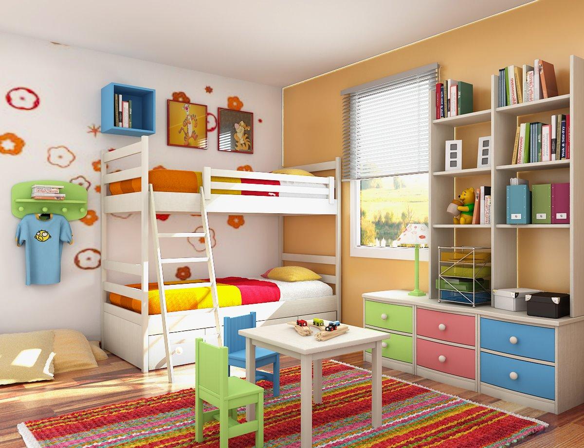 صورة ديكورات غرف اطفال , احدث صيحات في ديكورات عرف الاطفال