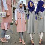 ملابس محجبات ٢٠١٨ , احدث صيحات الموضه للمحجابات في ٢٠١٨
