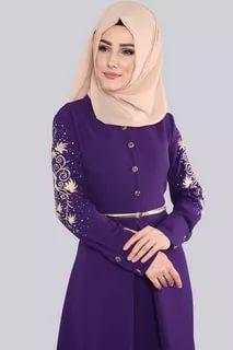 صورة ملابس محجبات تركية , احدث تصميم مميزة للملابس التركية 6001 2