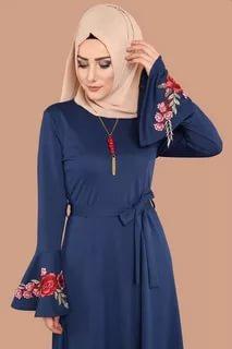صورة ملابس محجبات تركية , احدث تصميم مميزة للملابس التركية 6001 3