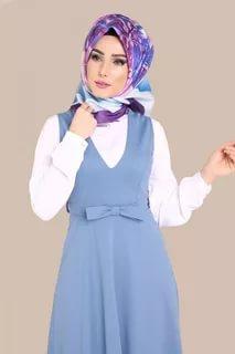 صورة ملابس محجبات تركية , احدث تصميم مميزة للملابس التركية 6001 5