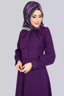 صورة ملابس محجبات تركية , احدث تصميم مميزة للملابس التركية 6001 7