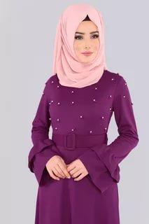 صورة ملابس محجبات تركية , احدث تصميم مميزة للملابس التركية 6001 9