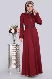 صورة ملابس محجبات تركية , احدث تصميم مميزة للملابس التركية 6001