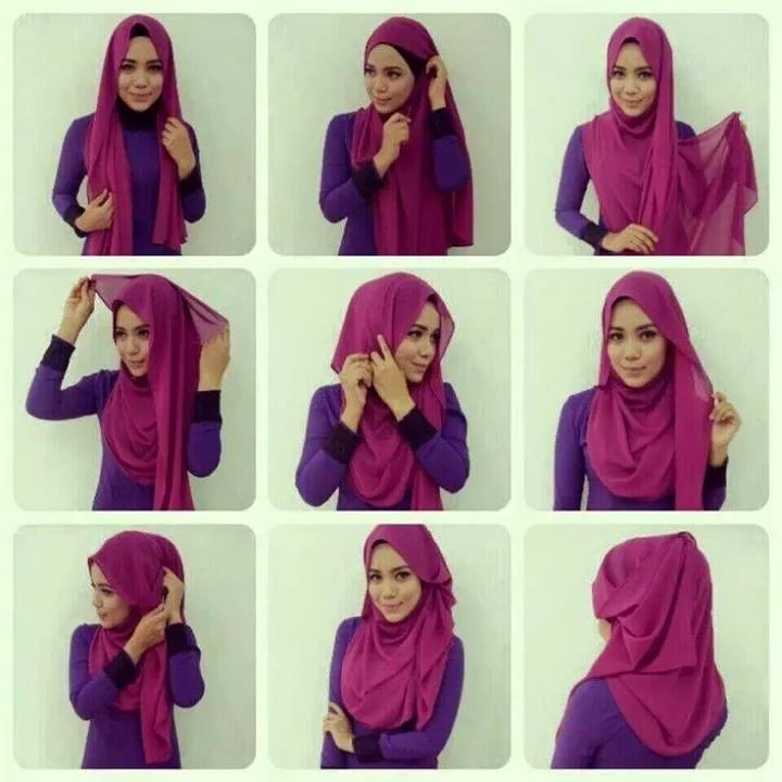 صور موضة الحجاب , احدث لفات الحجاب الحديثة