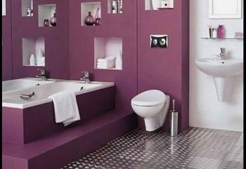 صورة ديكورات الحمامات , احدث ديكور للحمام المودرن