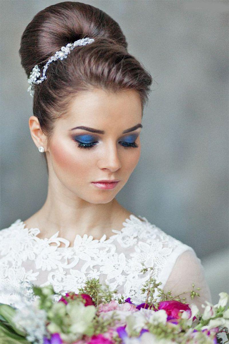 صورة صور مكياج عروس , استوحي مكياجك يوم عرسك من صور مكياج العرائس 4568 3