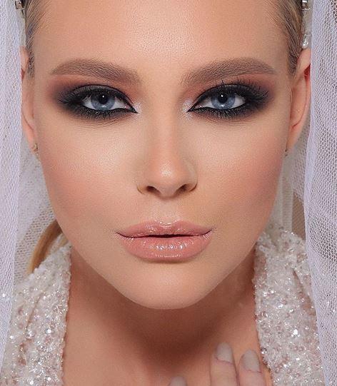 صورة صور مكياج عروس , استوحي مكياجك يوم عرسك من صور مكياج العرائس 4568 4