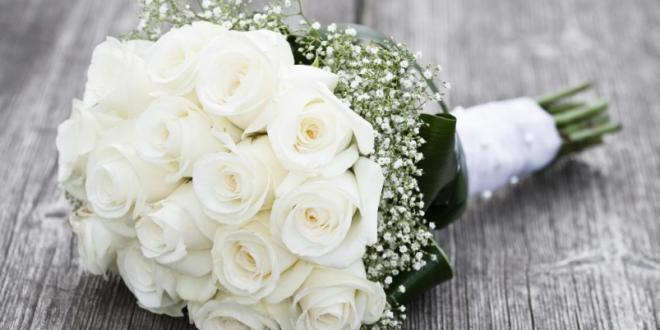 صورة بوكيه ورد ابيض , صور بوكيهات ورود بيضاء ليوم الزفاف