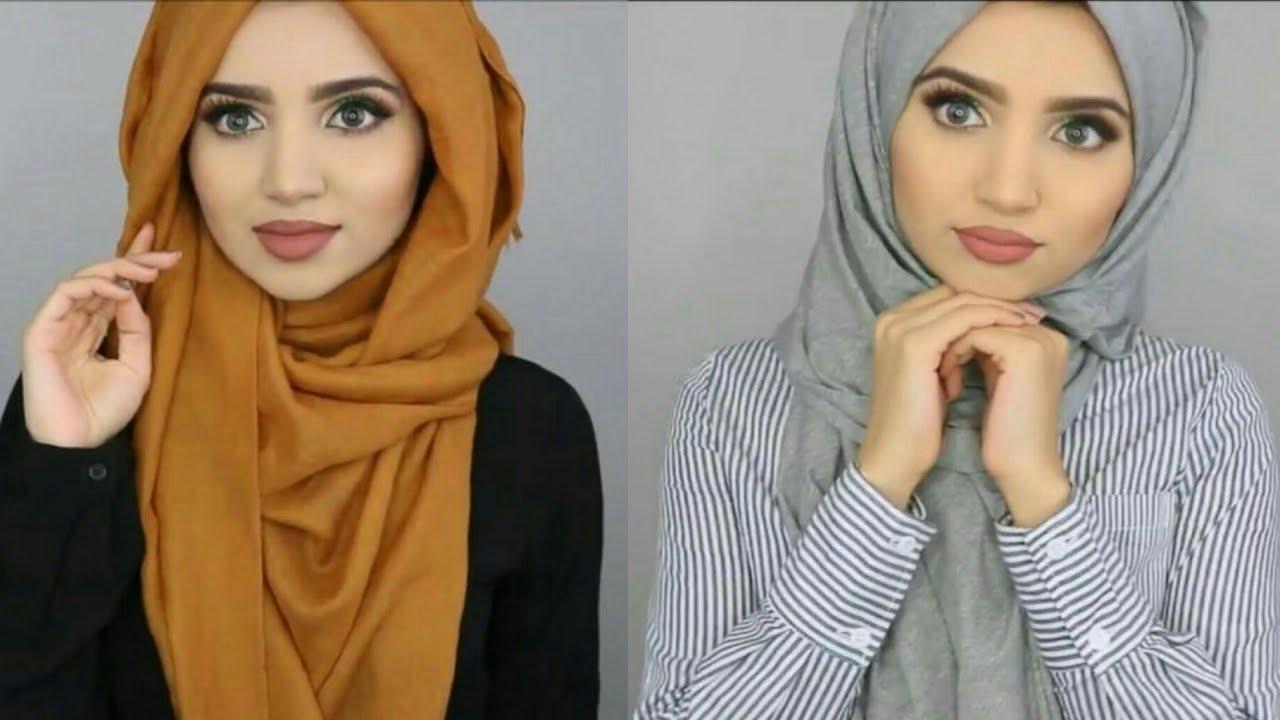 صورة صور لفات حجاب , صوره لفه حجاب للمحجابات