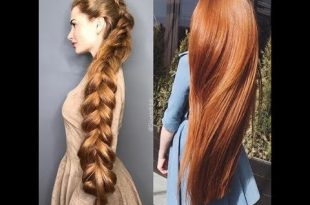 صورة وصفات لتطويل الشعر , طرق ووصفات لاطالة الشعر