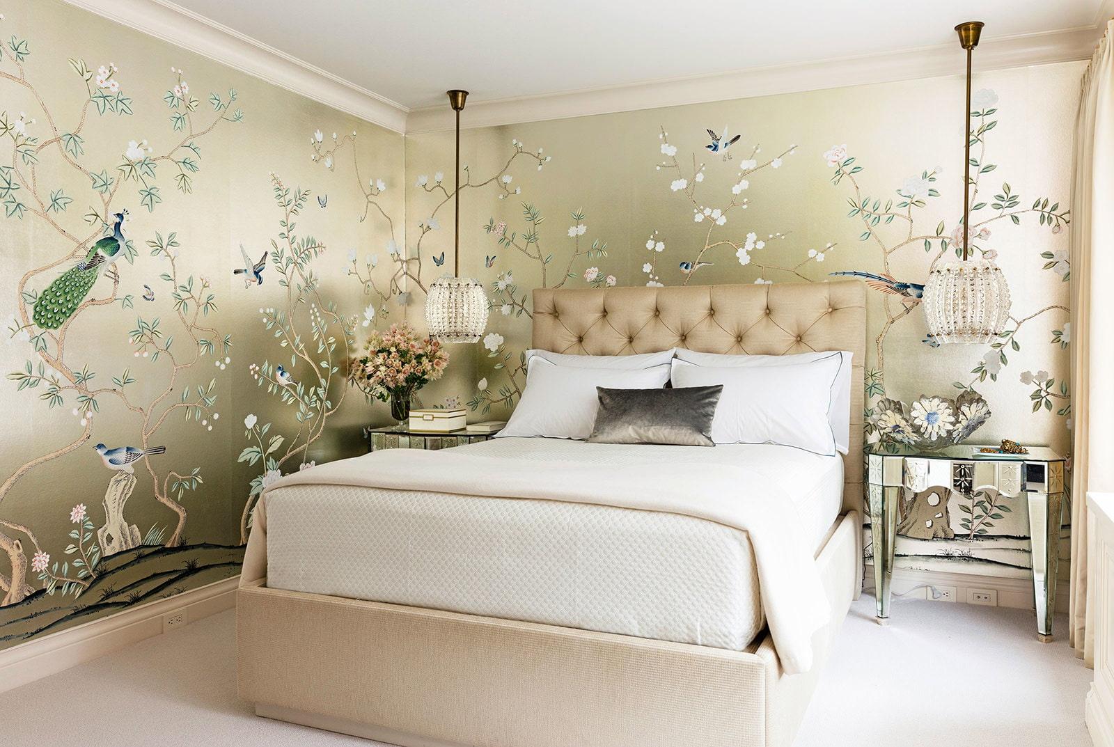 صورة ورق جدران لغرف النوم , احدث تصميمات جدران غرفة النوم 5120 9