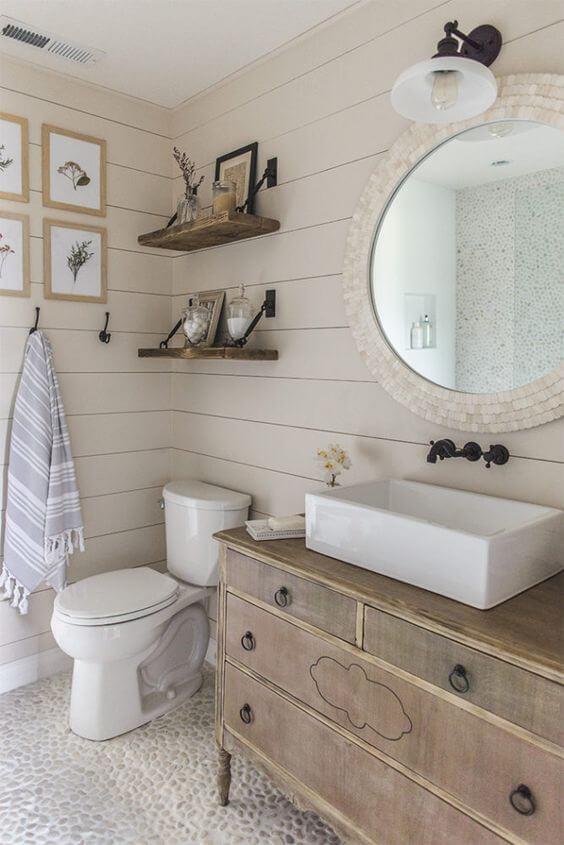 صورة ديكورات حمامات صغيرة جدا وبسيطة , اشيك ديكور لحمام صغير