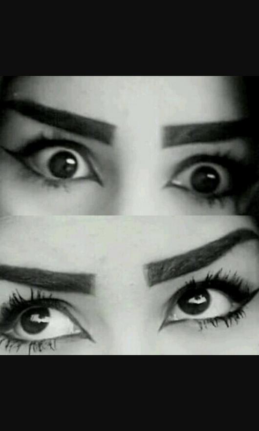 صورة عيون سوداء , صور عيون سوداء جميله 5232