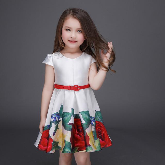 صورة فساتين اطفال بنات , تصاميم فساتين حلوه 5348 3
