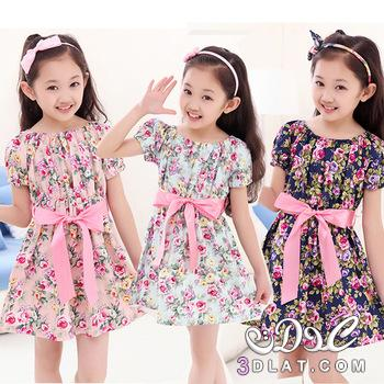 صورة فساتين اطفال بنات , تصاميم فساتين حلوه 5348 6