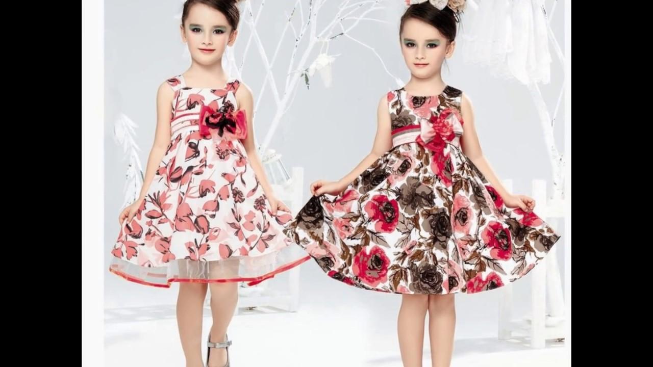 صورة فساتين اطفال بنات , تصاميم فساتين حلوه 5348 8