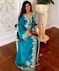 صورة صور قفطان مغربي , تصاميم قفاطين مغربيه ملونه 5402 3