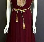 صور بلوزة وهرانية بالقطيفة , اجمل تصميم بلوزه وهرانيه