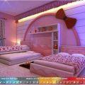 ديكورات غرف نوم بنات , افضل ديكورات مميزة للغرف