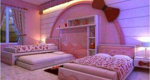 صور ديكورات غرف نوم بنات , افضل ديكورات مميزة للغرف